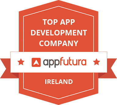 top app development company award appfutura badge